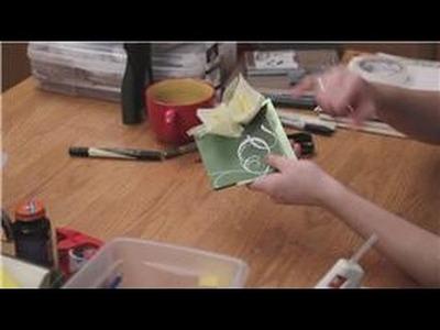 DIY Event Invitations : Wedding Invitations With Paper Calla Lilies