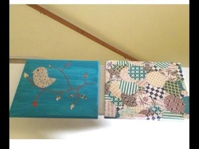 DIY Gift Idea: Canvas Art