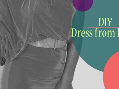 DIY: How to make a dress from pants EASY