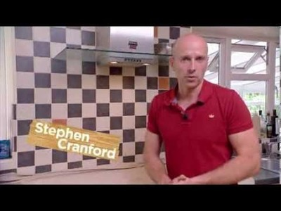 DIY Projects with Simon - regrouting tiles