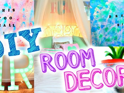DIY ROOM DECOR | Popular Tumblr Inspired Decor! Easy + Cheap!