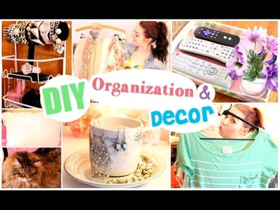 DIY Spring Organization and Decor!