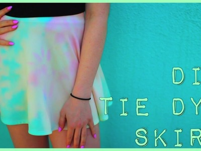 DIY Tie Dye Skirt