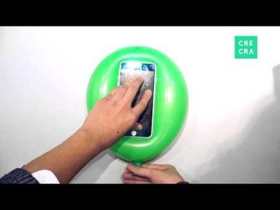 DIY tutorial: Cell Phone Balloon Case