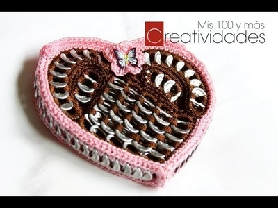 DIY: Valentine's Day Heart shaped purse part 1