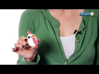 Easter Crafts - Egg Chickens