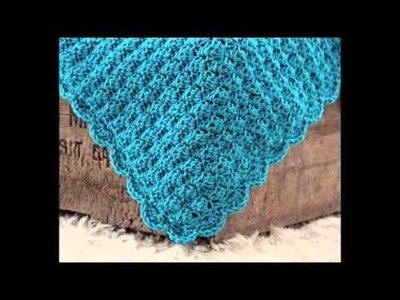 Easy Beginner Crochet Baby Blanket Tutorial