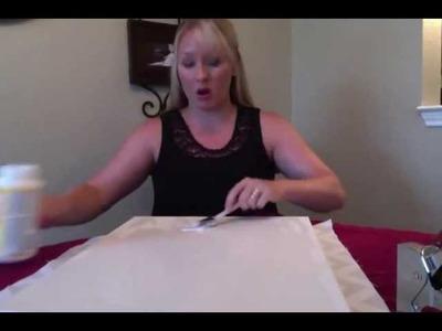 Fabric on Canvas Tutorial: DIY YOUR DORM