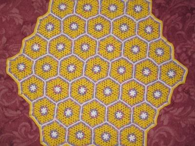 Hexagon Baby Blanket
