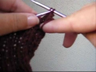 How to Knit and Bind Off 2x2 Ribbing