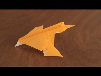 How to Make an Origami Falcon : Simple & Fun Origami