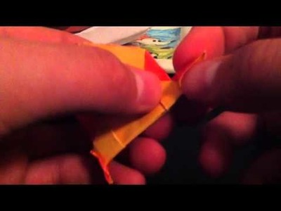 How to Make an Origami Mockingjay Pin