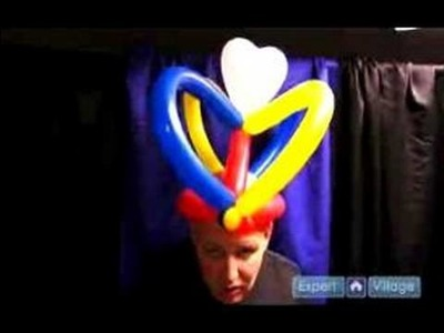How to Make Balloon Hats : How to Make a Balloon Crown