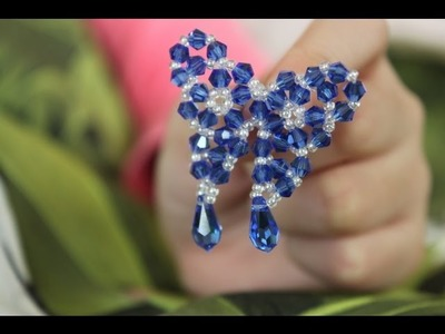How to make beaded butterfly