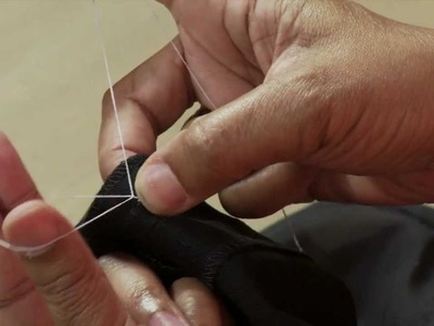 How To Sew a French Tack with Pam Howard from the Classic Tailored Shirt