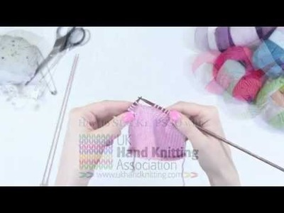 How to slip one, knit one and pass stitch over (SL1,K1,PSSO)