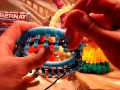 Loom Kitting - How To Start - Full Circle Knifty Knitter