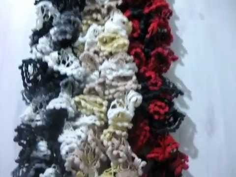 New Net Scarf Yarn Video 2 - Scarves Complete