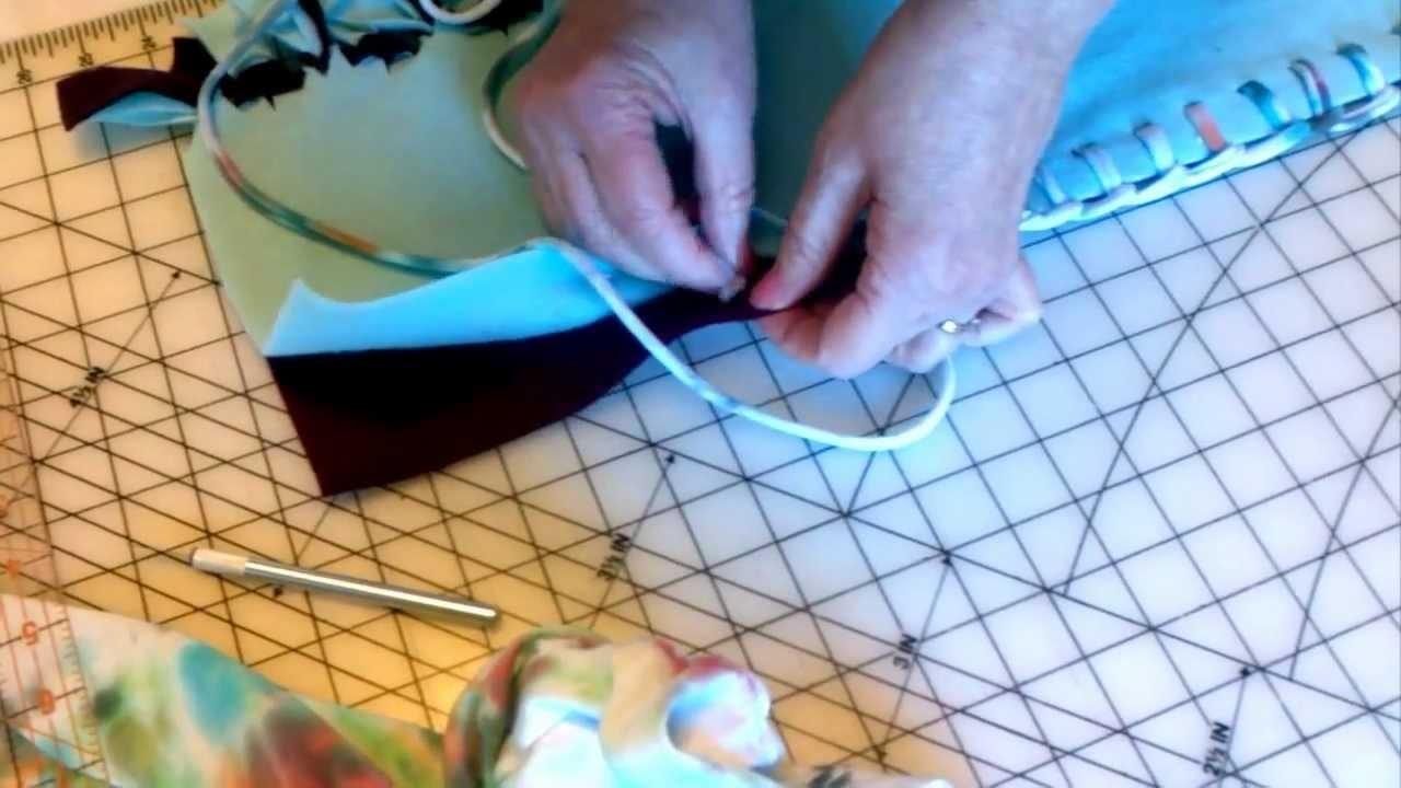No-Sew, No-Tie Fleece Blanket Edge, How To Demonstration