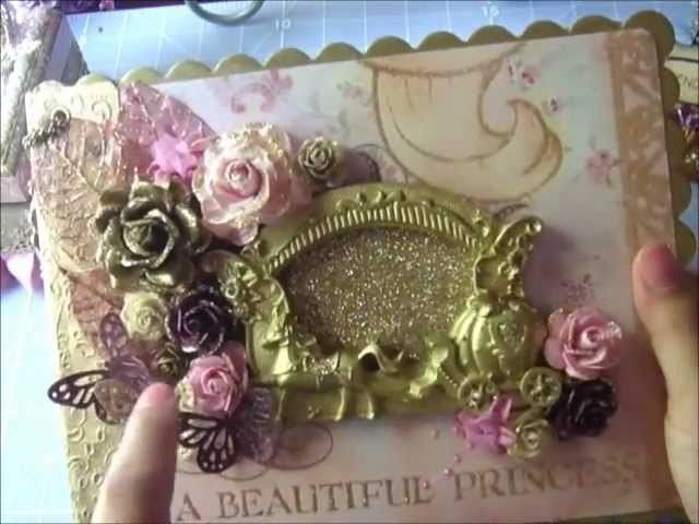 Once Upon A Time Chipboard Album