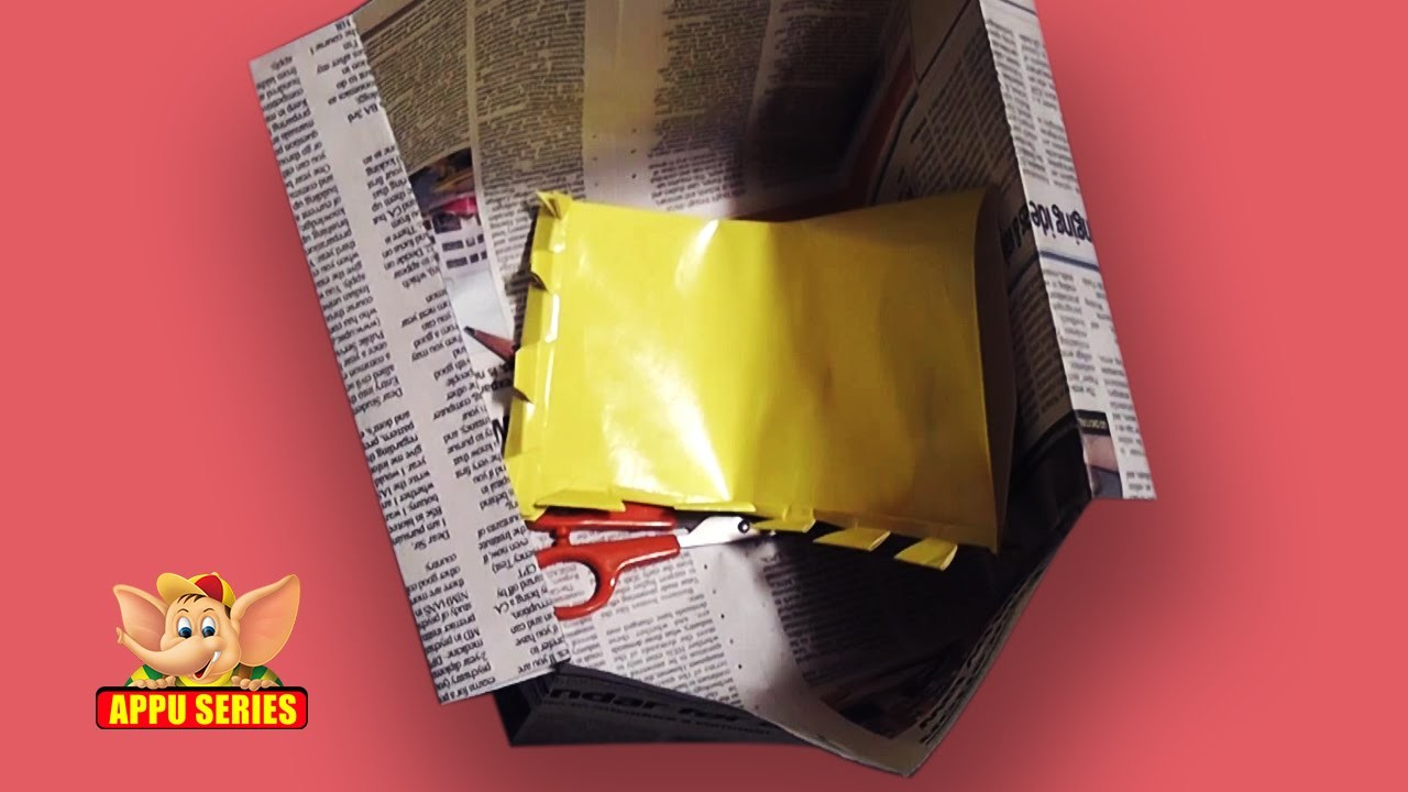 Origami - Let's make a Newspaper Basket