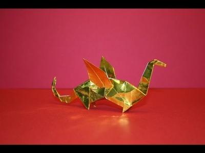 Origami tutorial - Dragon