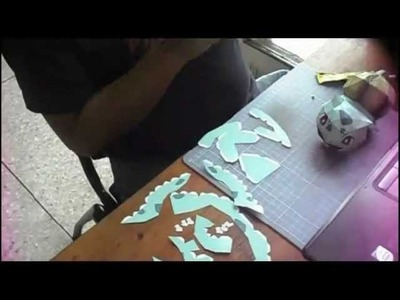 Papercraft - Bulbasaur