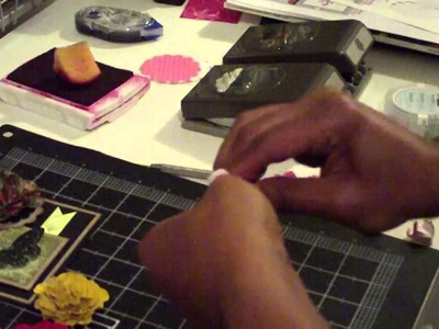 Scallop Paper  Flower Punch Tutorial