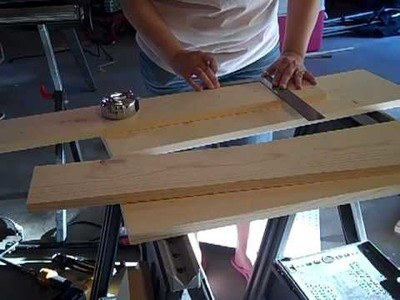 Scrapbook craft room shelf how to build  part 1