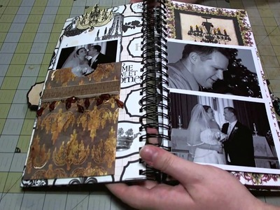 Scrapbook Mini Album: Welcome Home