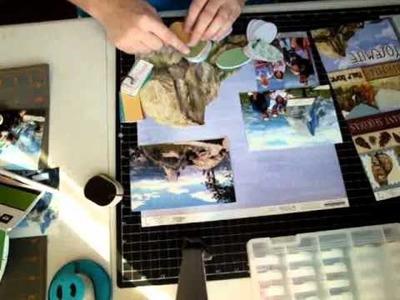 Using Cricut Imagine to print matching Scrapbook paper