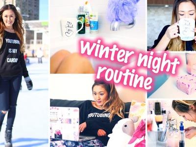 Winter Night Routine + Easy DIY Bath Bomb! | LaurDIY