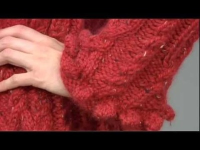 #2 Belted Cardigan, Vogue Knitting Fall 2009
