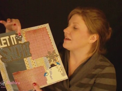 3 Christmas Scrapbook Layouts and a Special Shout Out!