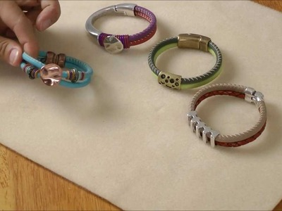 Antelope Beads - Arizona Stitched Leather Overview and Design Tips