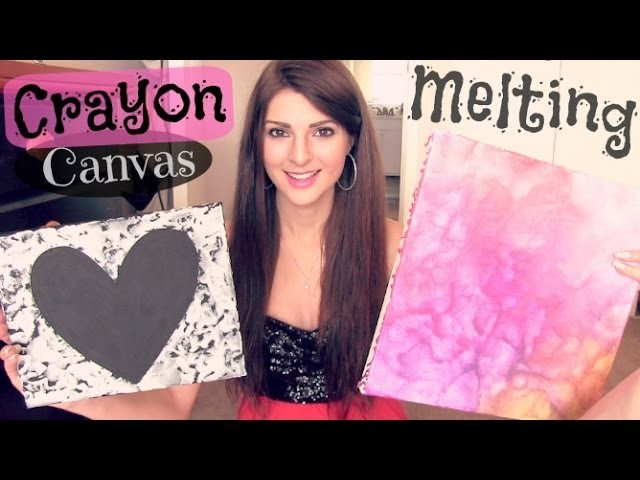 Crayon Melting Canvas Art - How To