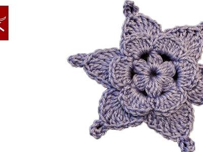 Crochet Flower WaterColor Crochet Geek