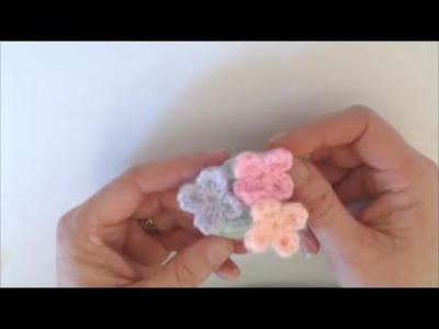 Crochet for Beginners: Free Mini Flower Crochet Pattern