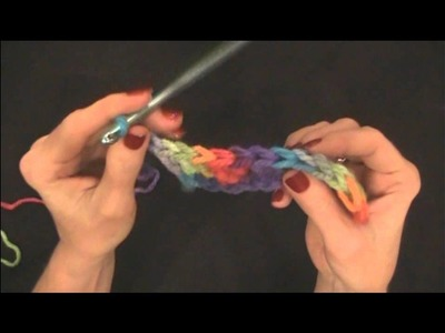 CROCHET STITCH Double Crochet (dc) Beginner Basic by Maggie Weldon
