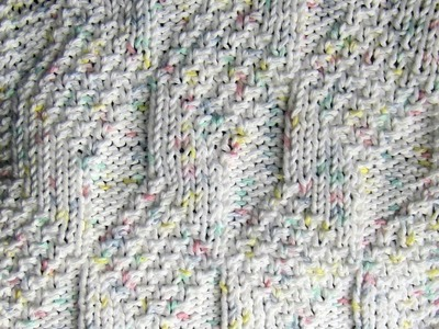 Diamond and Lozenge Dishcloth Knit Along - Part Two