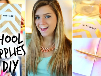 DIY Back to School Supplies! ♡