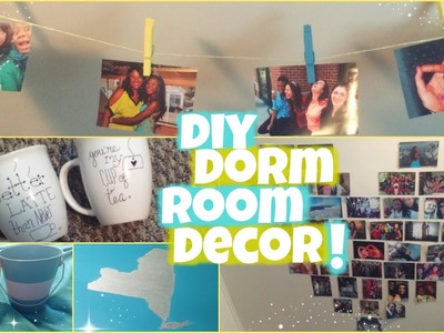 DIY DORM ROOM DECOR♡