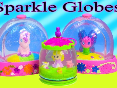 DIY Glitzi Globes Inspired Make Your Own Water Glitter Sparkle Globes Craft Unicorn Playset Toy