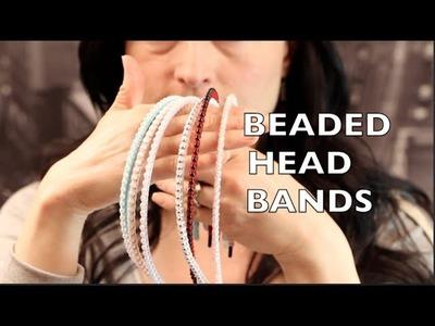 DIY Headband - No Sew Beaded