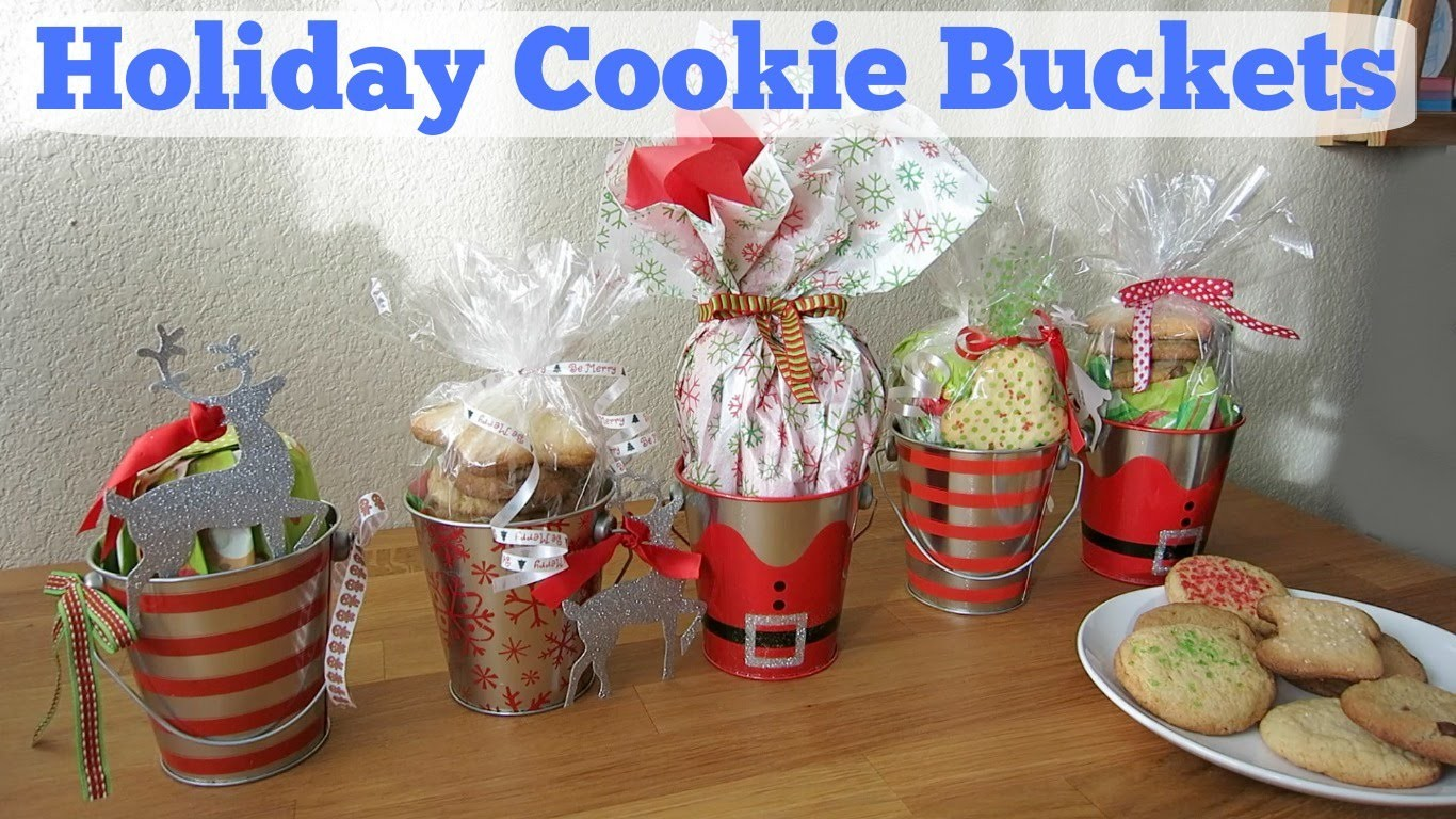 DIY: Holiday Cookie Buckets | Christmas Gift Ideas