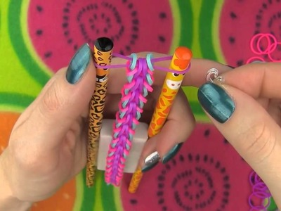 DIY Loom Bands Rainbow Loom! DIY 5 Easy Rainbow Loom Bracelets without a Loom DIY Loom Bands