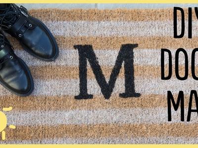 DIY | Monogram Doormat