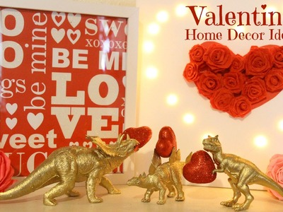 DIY San Valentin decoraciones. Valentine's Home Decor. Gifts.Regalos