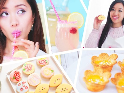 DIY Spring Delight: Food, Drink + Face Mask ✿