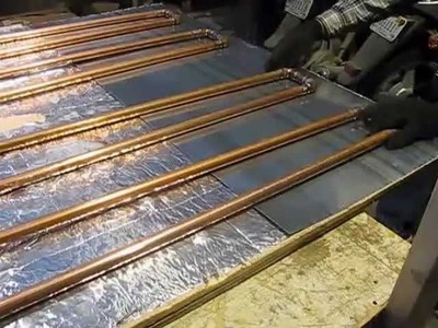 DIY thermosiphon solar water heater